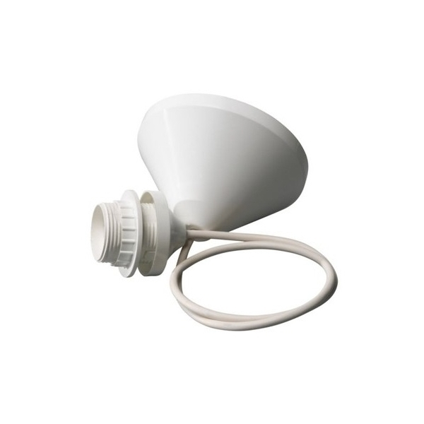 pendel voor lampenkap wit