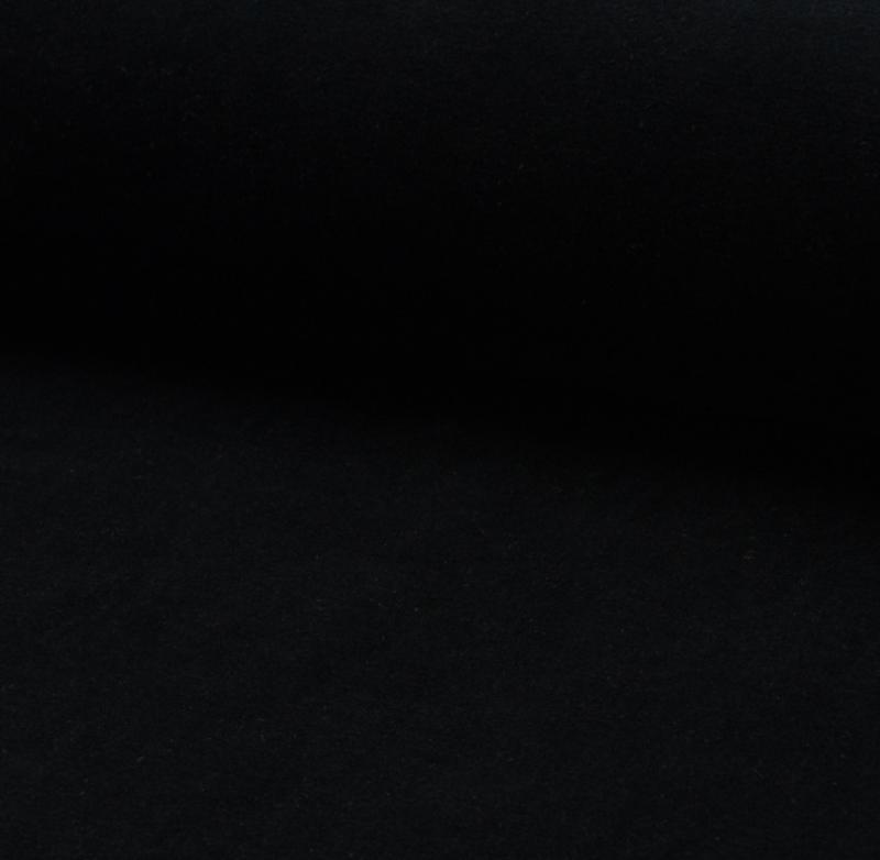 nicky velours stof zwart