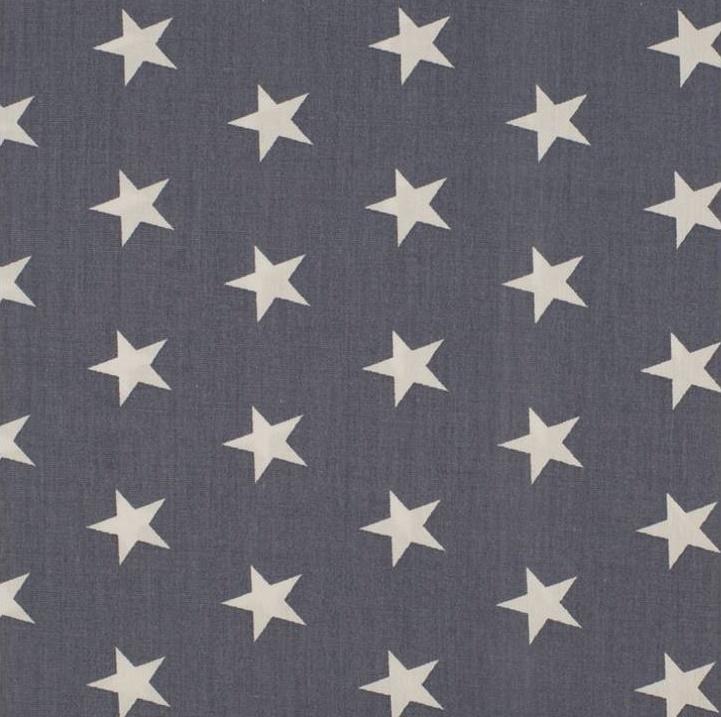 vlag grijs wit ster, vanaf