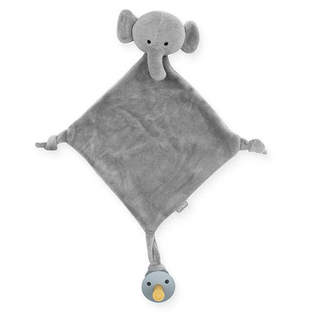 speendoekje olifant grijs