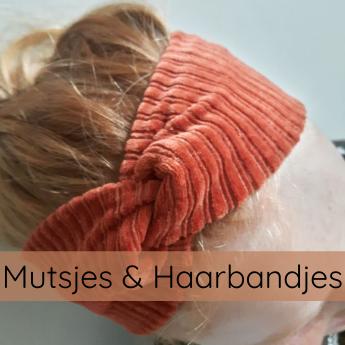 KLEDING haarbandjes en mutsjes