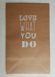 Cadeauzak 'Love what you do'