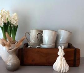 Mok lichtgrijs/ecru Ceramics Originals