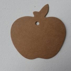 Appel karton vintage setje van 25 stuks