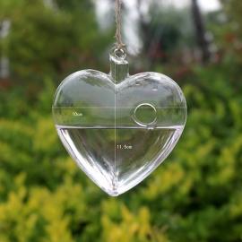 Vaasje glas hartje