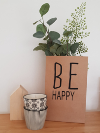 Cadeauzak 'Be Happy'