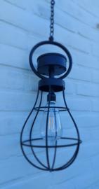 Solar hanglamp zwart