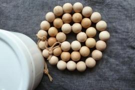 Holz perlen 16mm 50 stücke