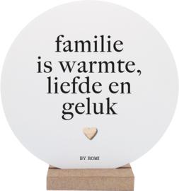 Wooncirkel met standaard  Familie