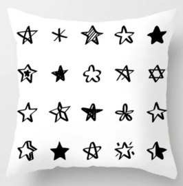 Kussenhoes met sterren