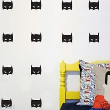 Muurstickers batman zwart