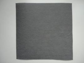 Vilt lapje grijs