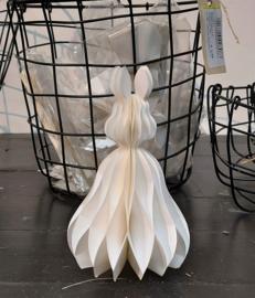 Paashaasje papier wit