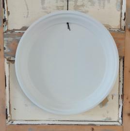 Magneetbord dienblad beige rond 40 cm