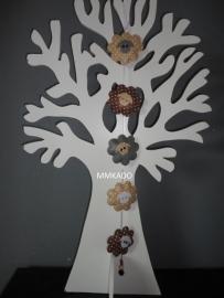 Hanger schaapjes grijs/wit/bruin