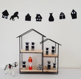 Woonslinger Sinterklaas zwart