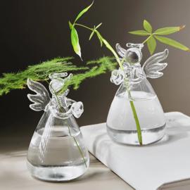 Vaasje glas engel