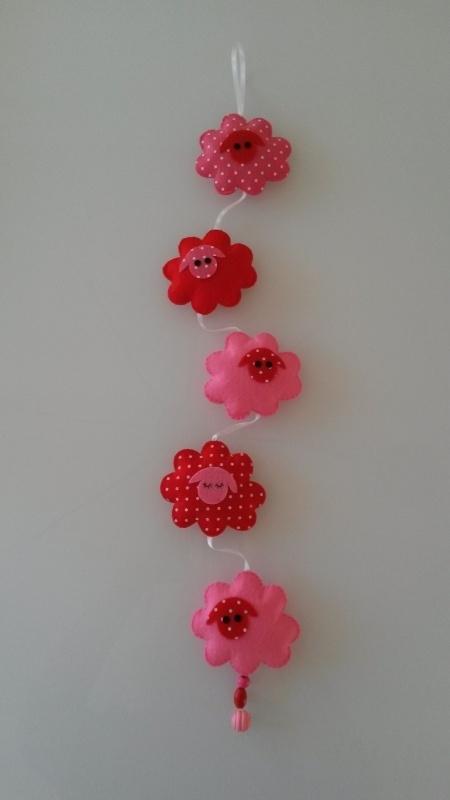 Schaapjeshanger rood/rose
