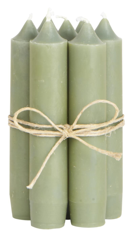 Dinerkaarsjes IB Laursen olijf groen