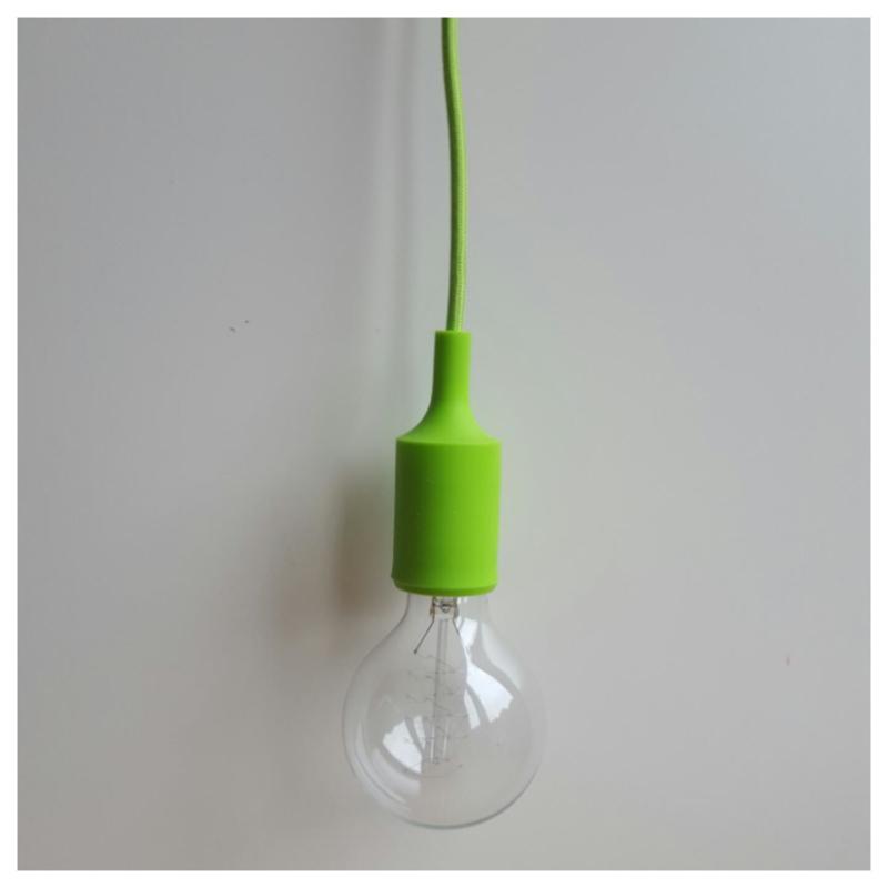 Hanglamp limegroen
