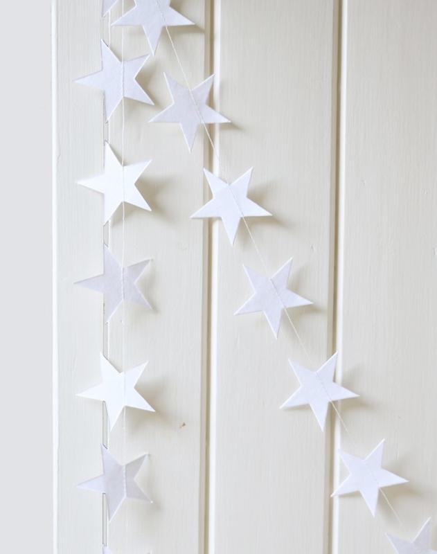 Slinger witte sterren 4 meter lang