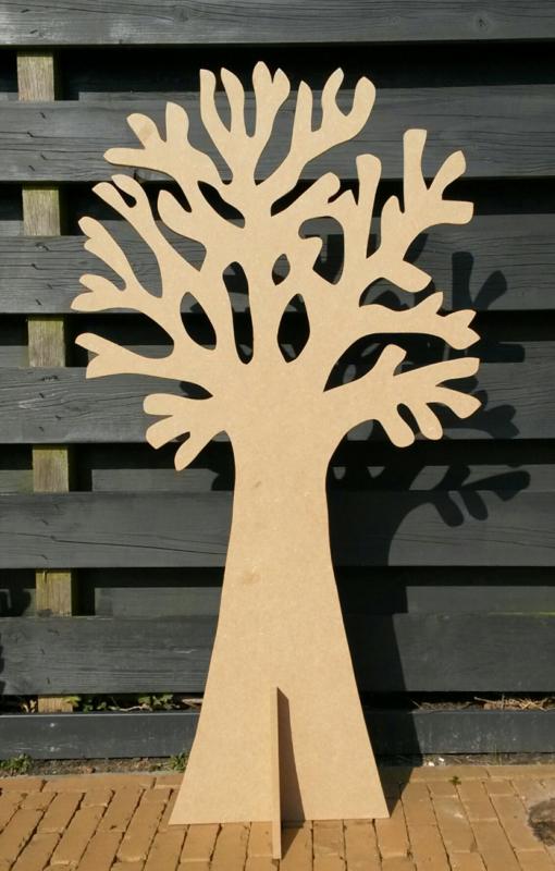 Wensboom hout 185cm