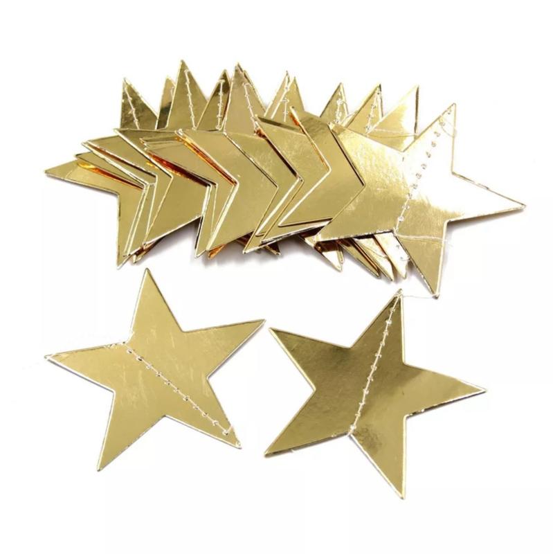 Slinger gouden sterren 2 meter lang