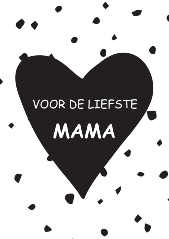 Kaart voor de liefste Mama
