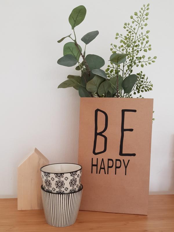 Cadeauzak 'Be Happy'
