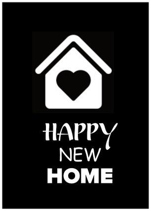 Kaart happy new home