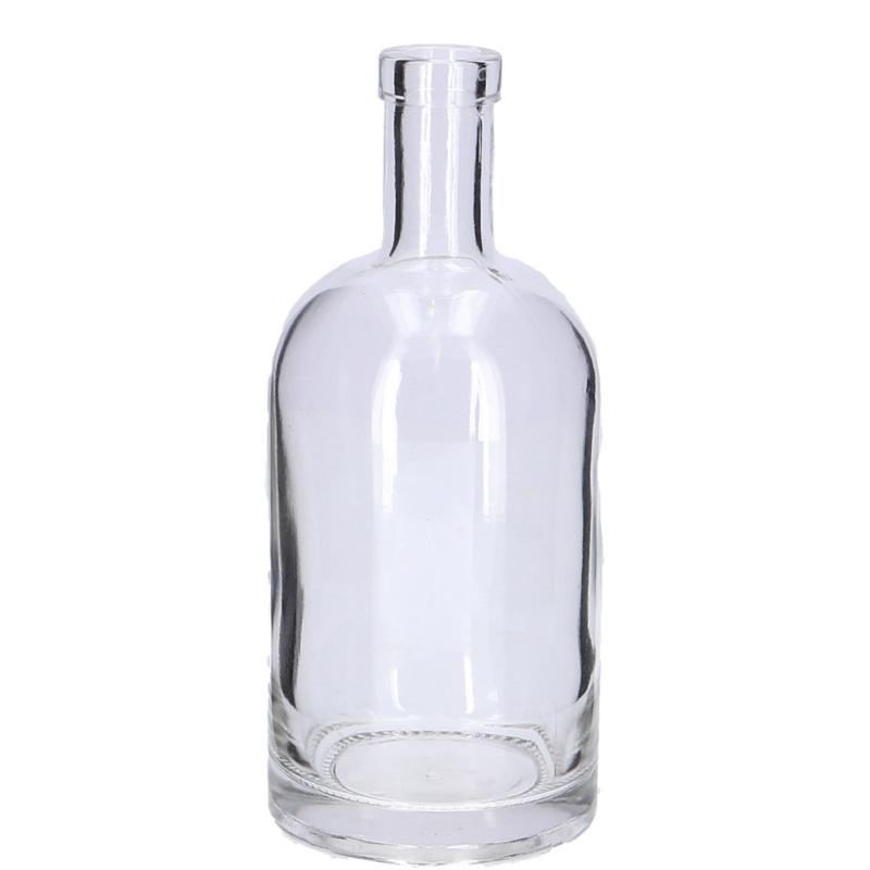 Fles kandelaar vaas 19 cm hoog