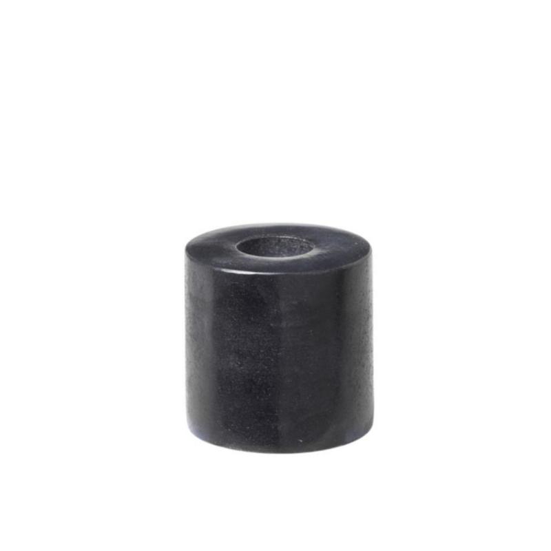 Kandelaar zwart voor potloodkaarsje