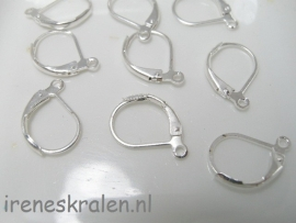 EarHooks Silver Plated Closed (10x)