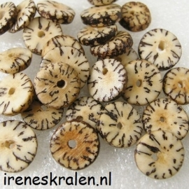 GB020: Disc Coco NaturalProduct, 10-12x4mm
