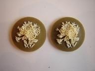 Camee 14mm army bloem