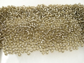 SeedBeads Grey 12/0, 2mm, appx 25 gram, appx  1800