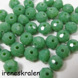 GG 021: Facetkraal Groen 5x6mm