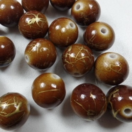 GB 171 Round Brown acryl, 11mm