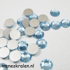 Plaksteen 7mm Aquamarine, Swarovski