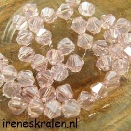 Groze 104 Crystal Toupille, 6mm, Rosaline