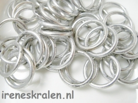M 136 Metallook ring glad, 16mm