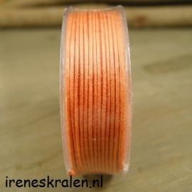 Waxcord oranje 10 meter, 0.5mm