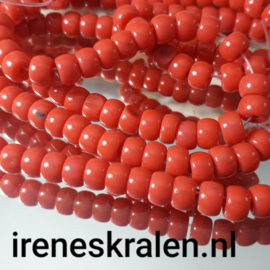 Grd 015: Rondell Crimson Red, ca 4x6.5mm
