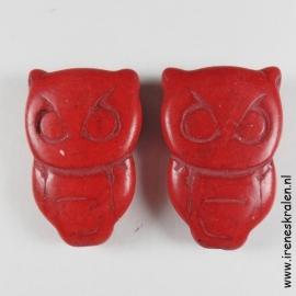 Grd 001: Stone Owl, 28x19mm doublesided