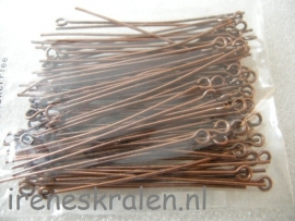 EyePins CopperColor 45mm (100x)