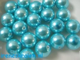 GlassPearl turquoise 12mm