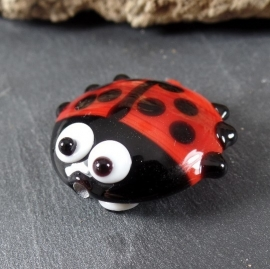 LadyBug Red DoubleSided, appx 25mm