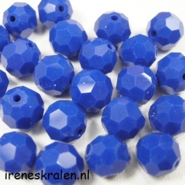 GBL153: Facetted Bead DarkBlue, 10mm