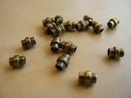 Gd 073: Buisje, metaal oudgoud/brons 5x4mm (1.95mm gat)