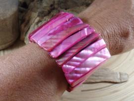 RZ 0004: Brede Armband Schelp